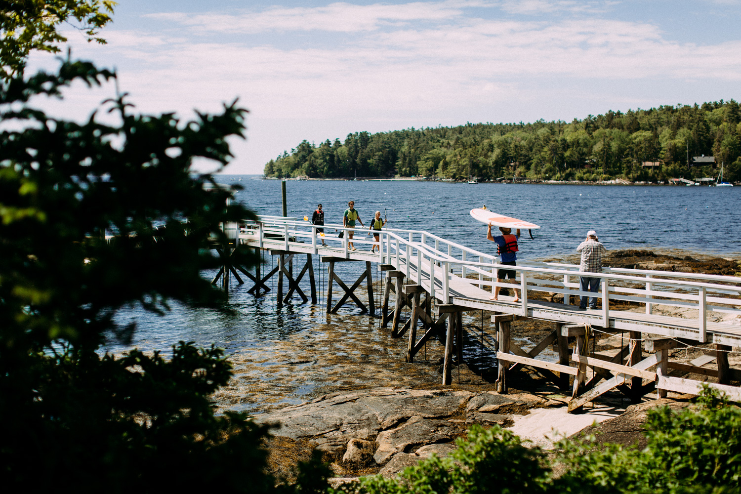 linekin bay boothbay harbor maine wedding