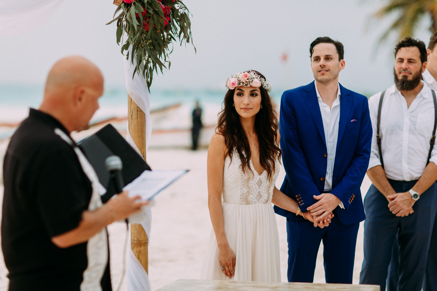 tulum mexico beach wedding